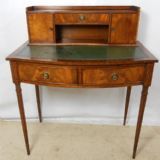 SOLD - Mahogany Ladies Writing Desk by Reprodux